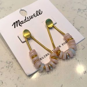 Madewell Mother of Pearl Earrings